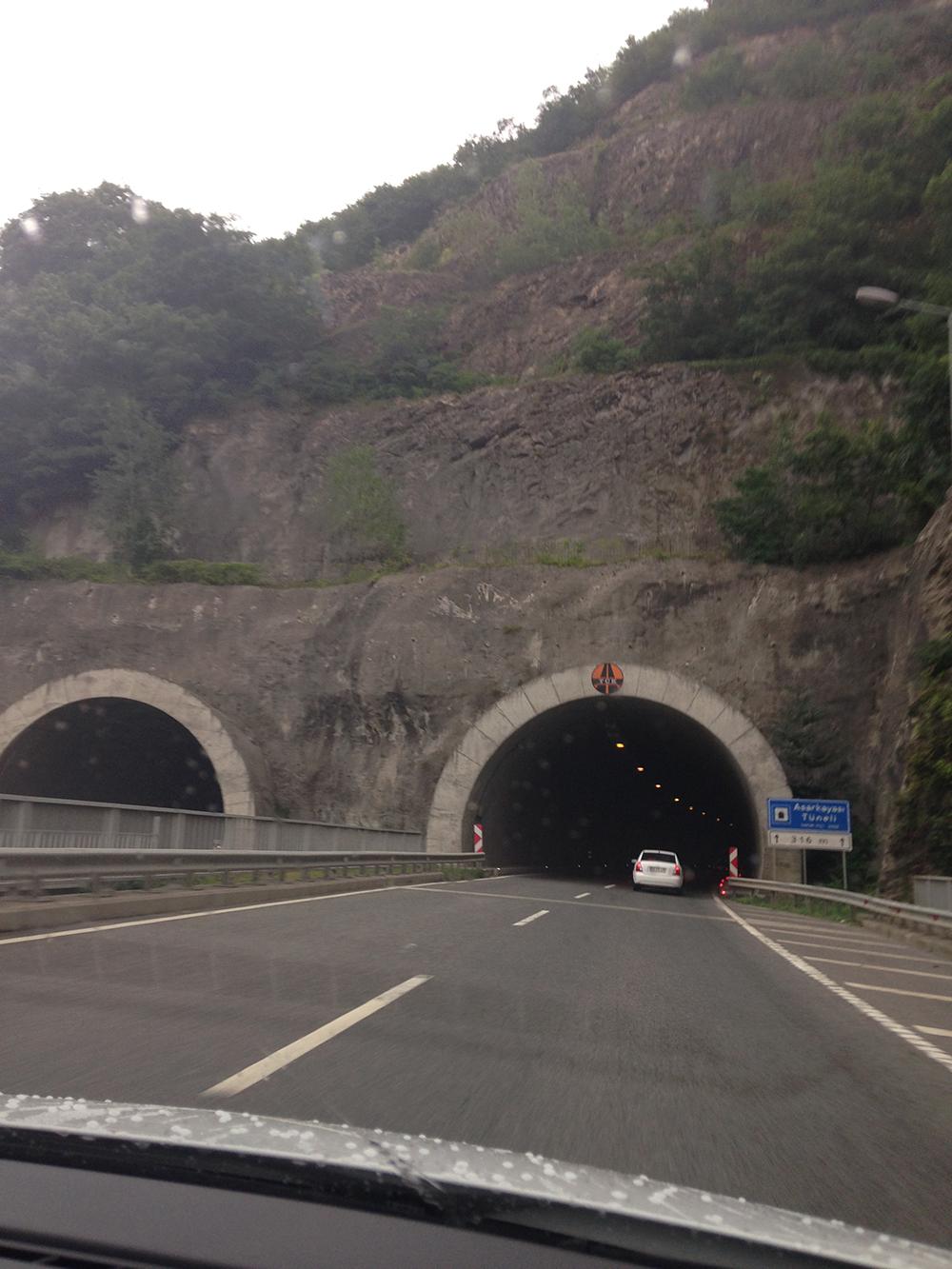 Ordu tüneli.
