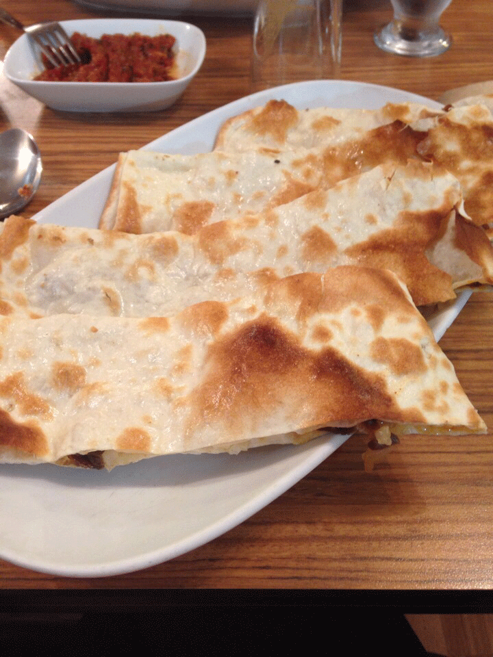 Pastırmalı ekmek