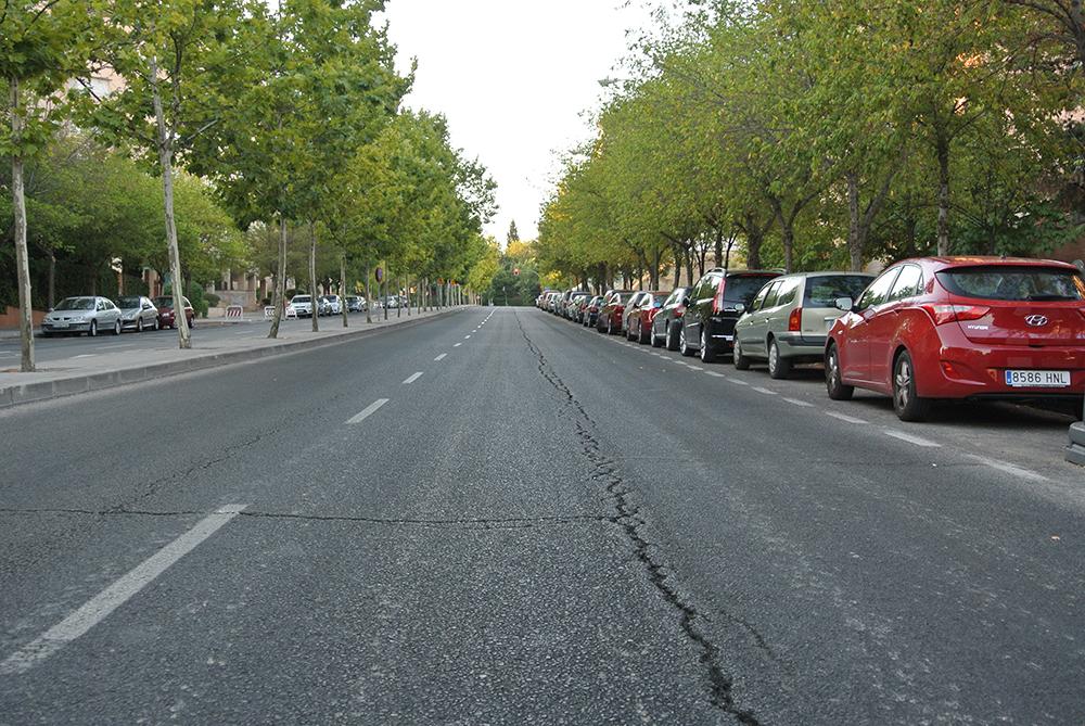 Madrid sokakları..