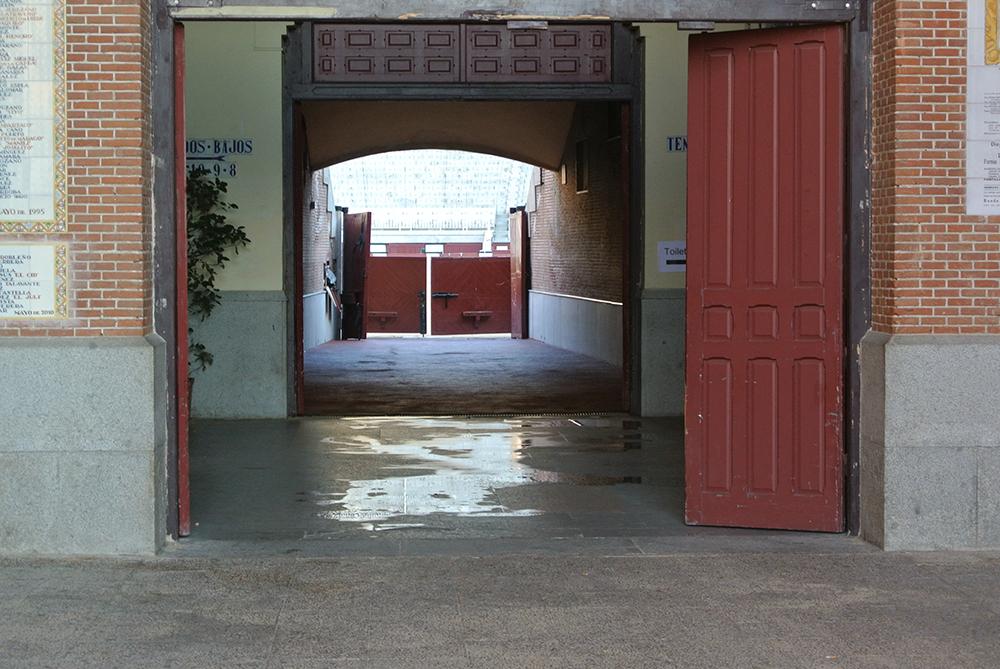 Boğalar bu kapıdan arenaya çıkarılıyorlarmış