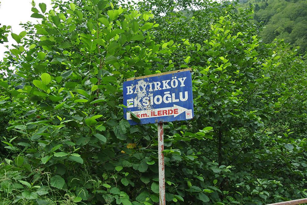 Köyde sadece Ekşioğlu soyadı var :)