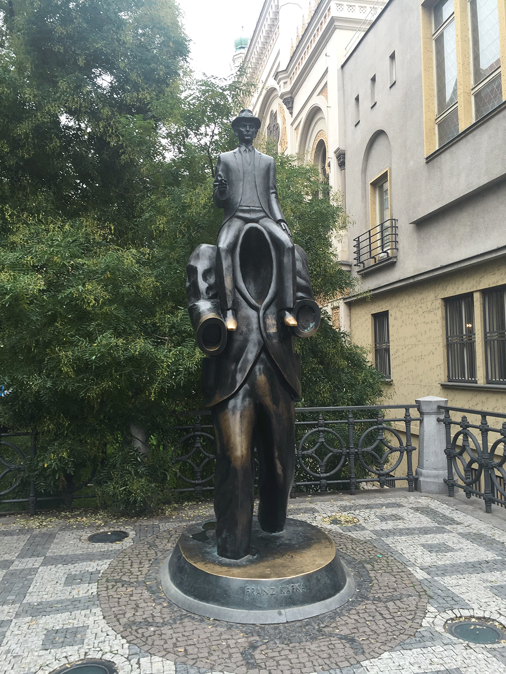 Kafka Heykeli
