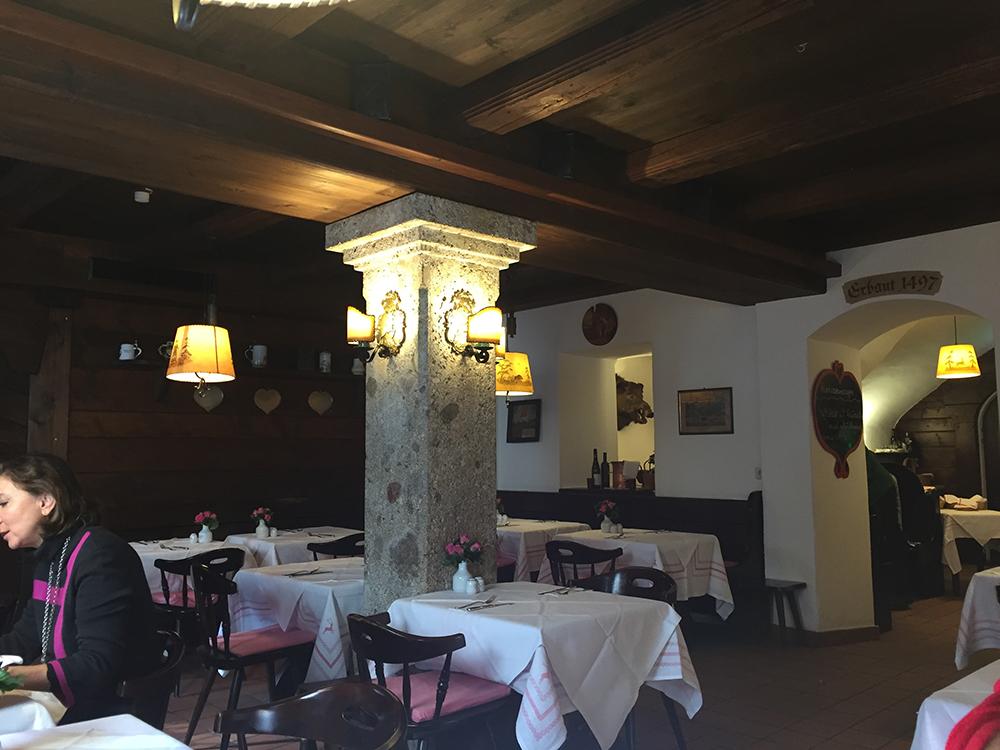 Restoran'ın ortamı