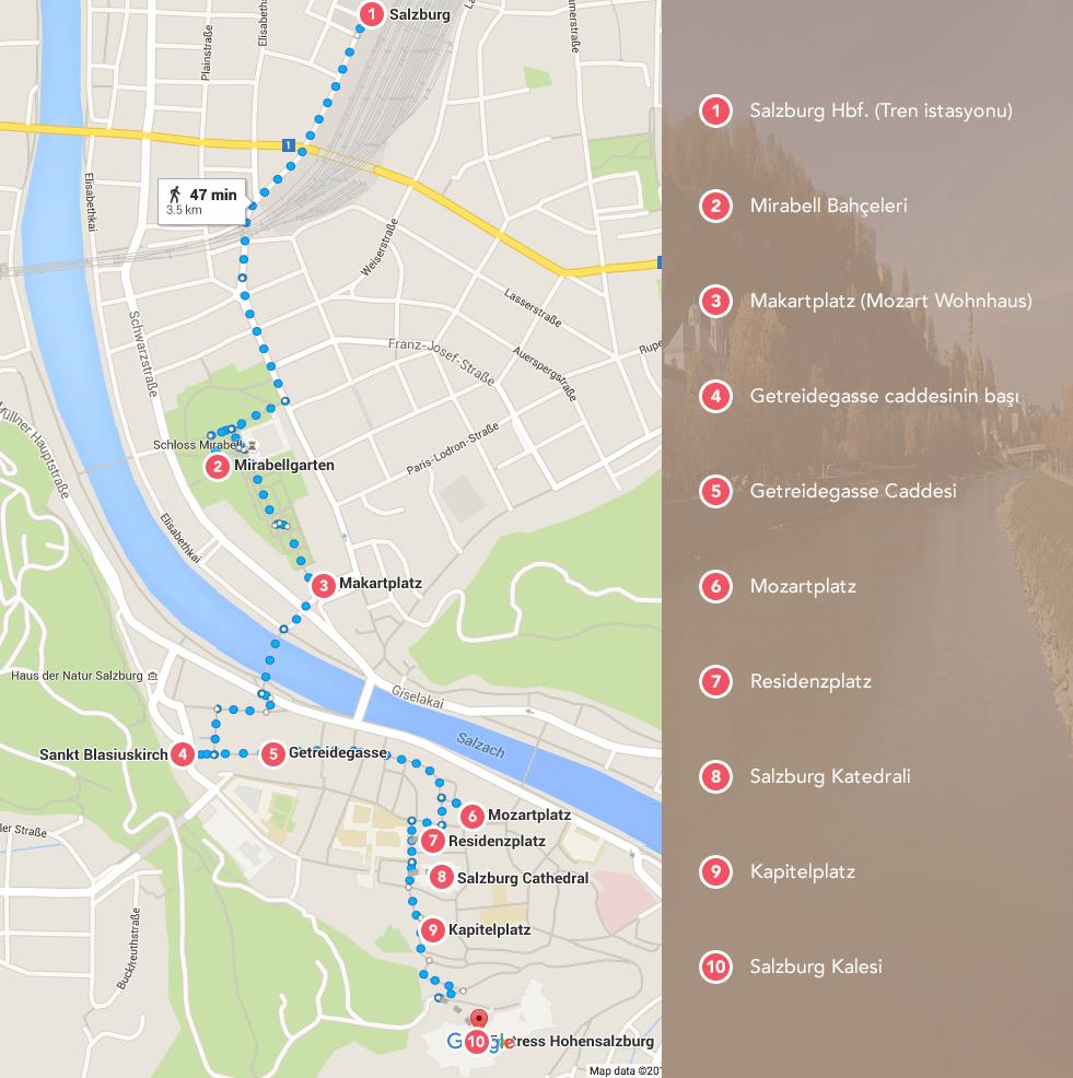 Turist haritası