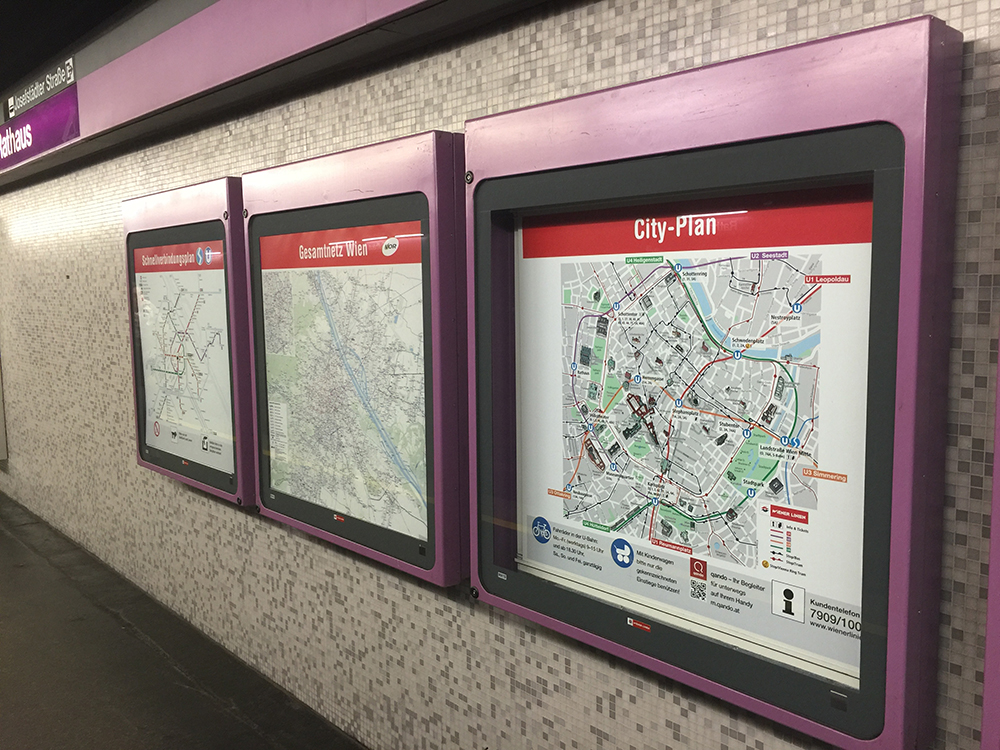 Viyana Metro Haritası