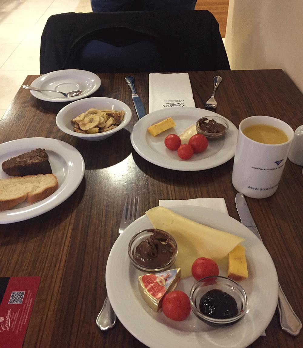 Otel kahvaltımız