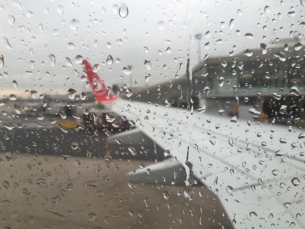 Yağmurlu bir seyahat dönüşünden..