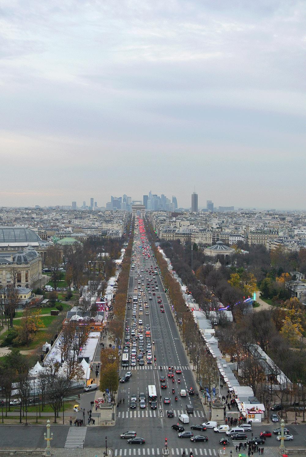 Dönme Dolaptan Champs Elysees ♥