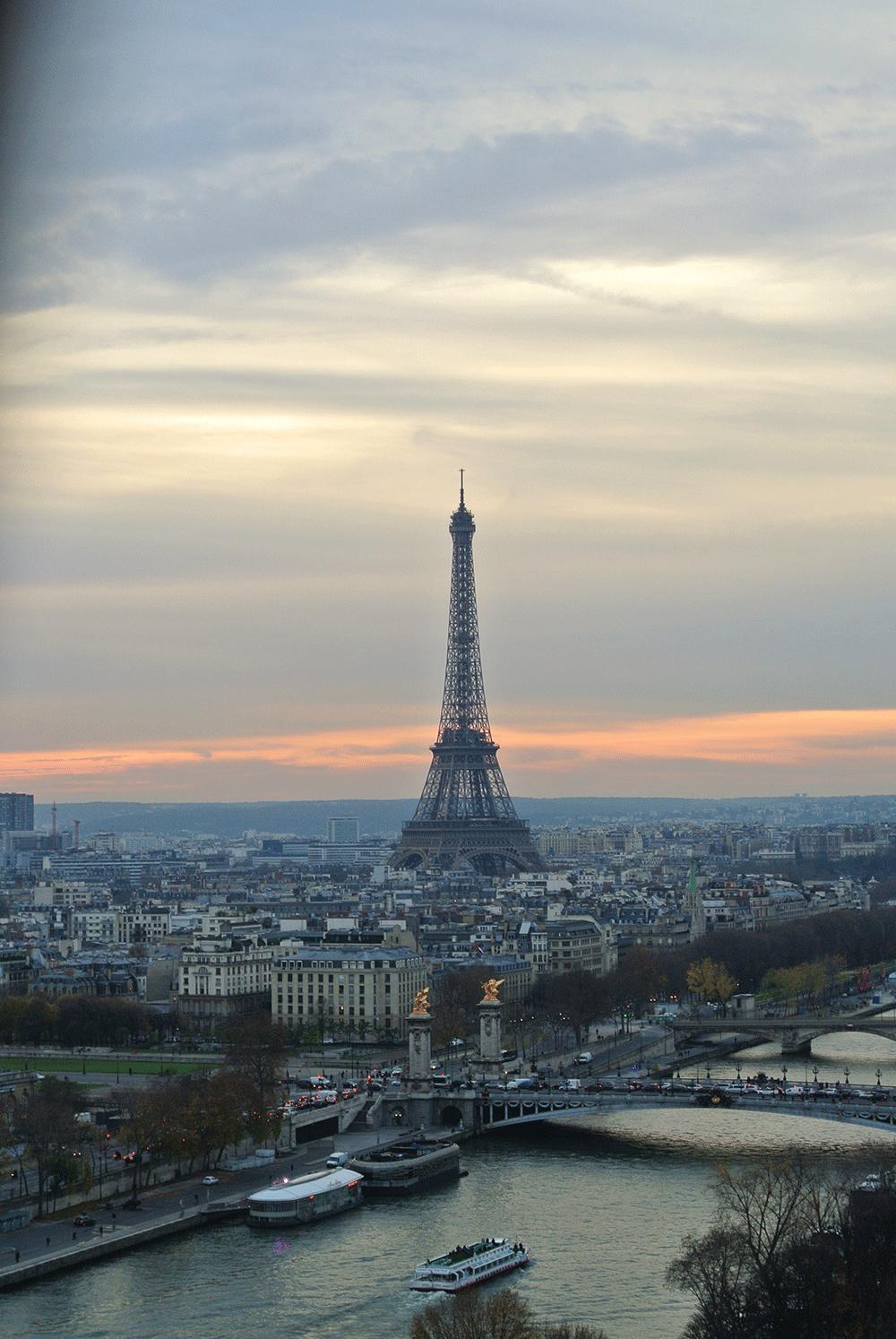 Dönme Dolaptan Eiffel Kulesi ♥