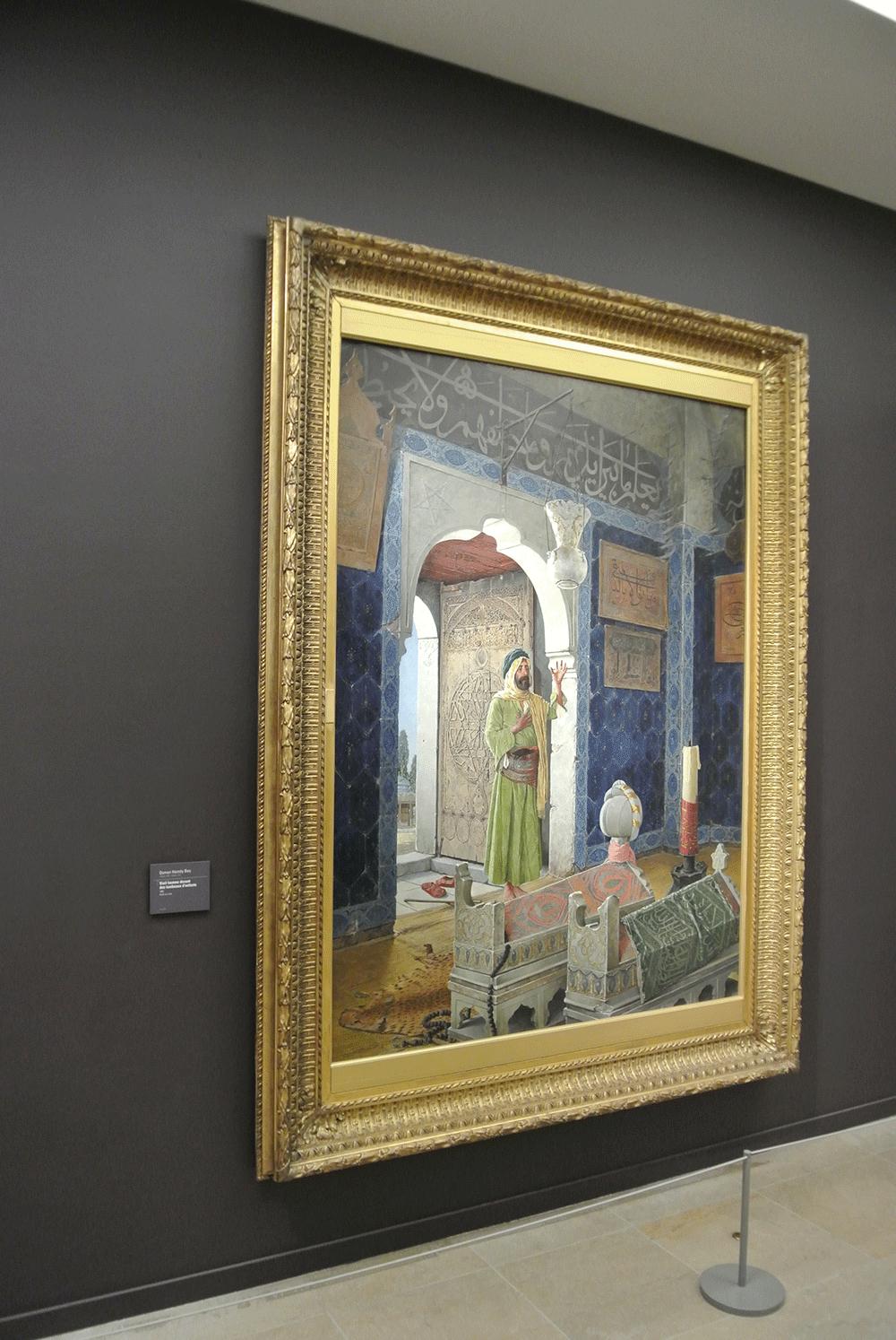 Osman Hamdi Bey, Şehzade Türbesinde Derviş tablosu