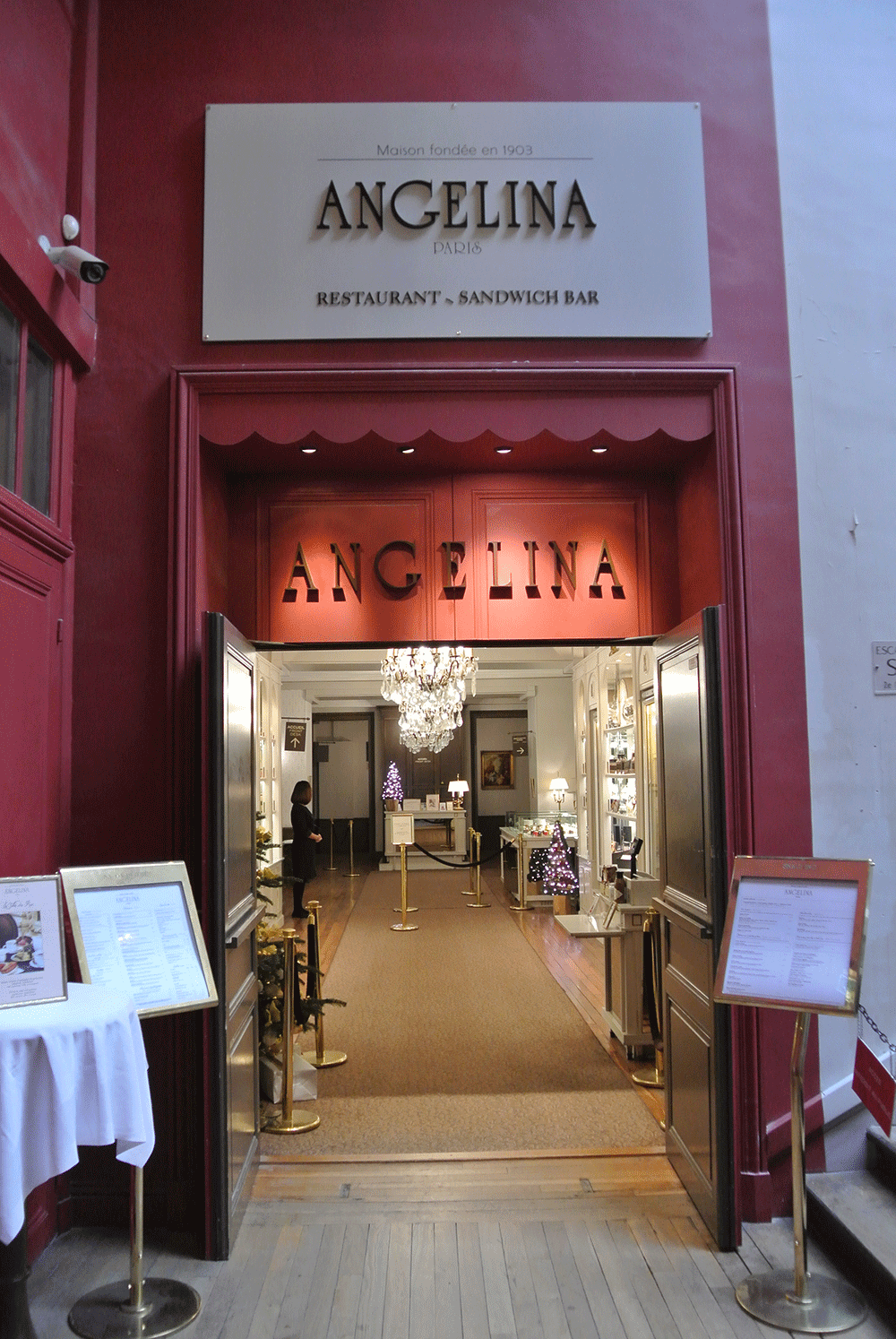 Versay Sarayı içerisindeki Angelina