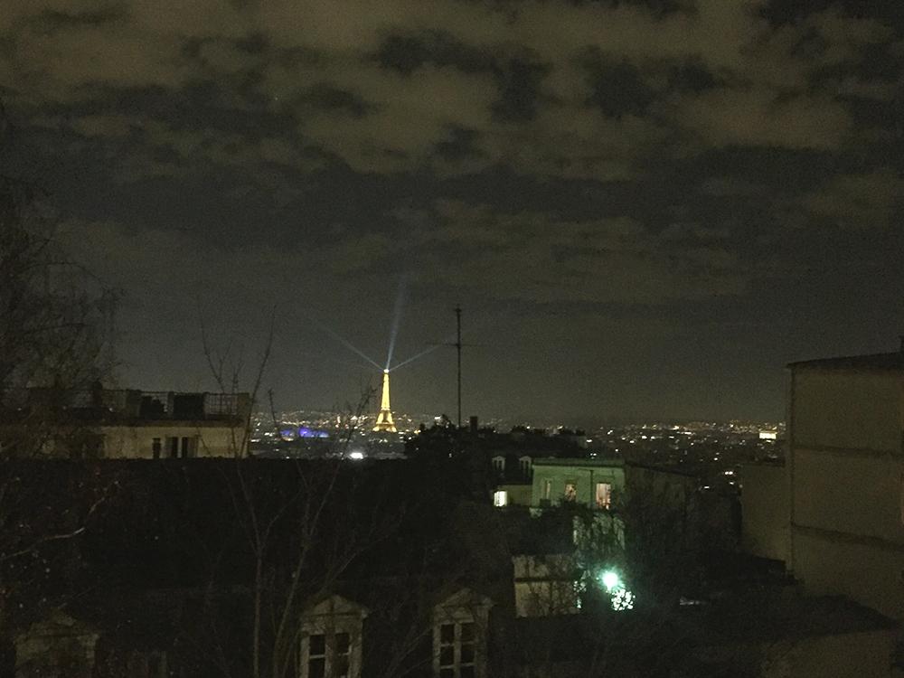 Montmartre Tepesinden Eiffel Kulesi ♥