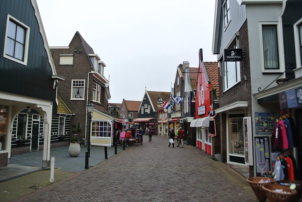 Sahil alışveriş caddesi