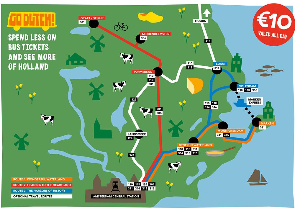 EBS Otobüslerinin Haritası