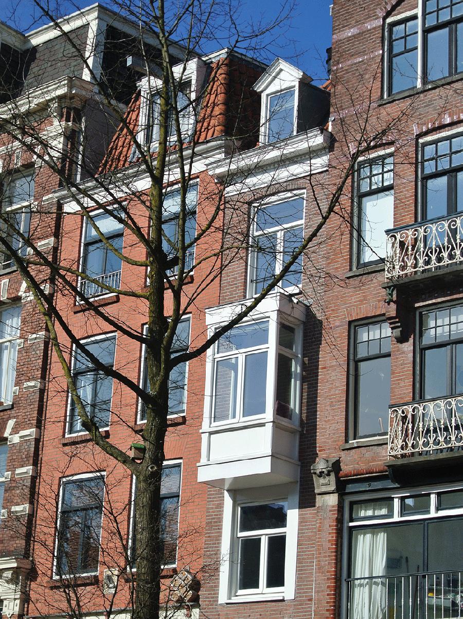 Amsterdam'ın en dar evi.