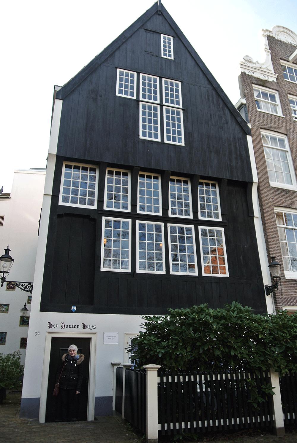 Amsterdam'ın en eski evi