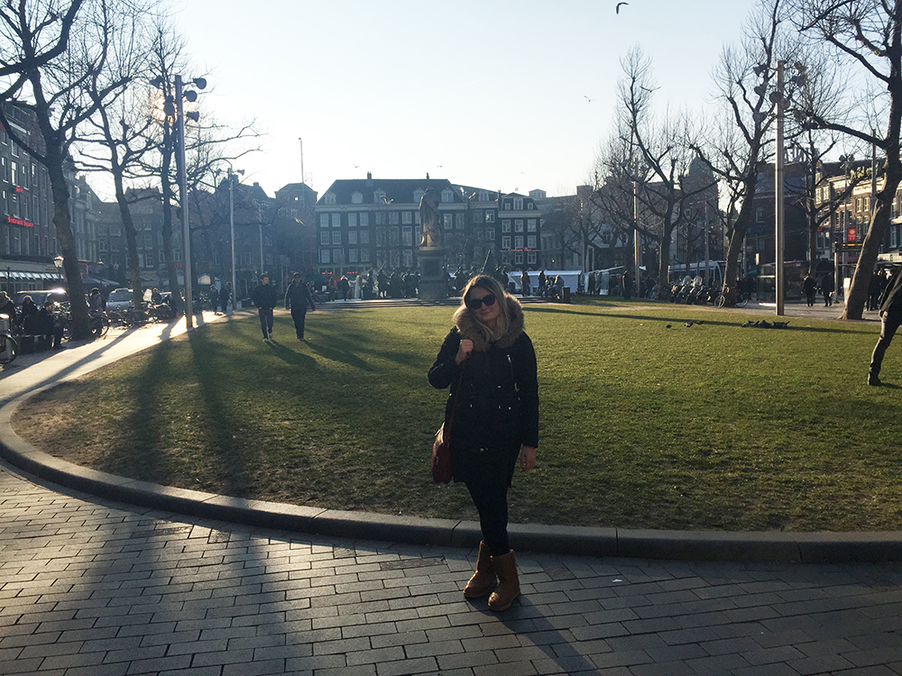 Rembrandt Meydanında ben :)