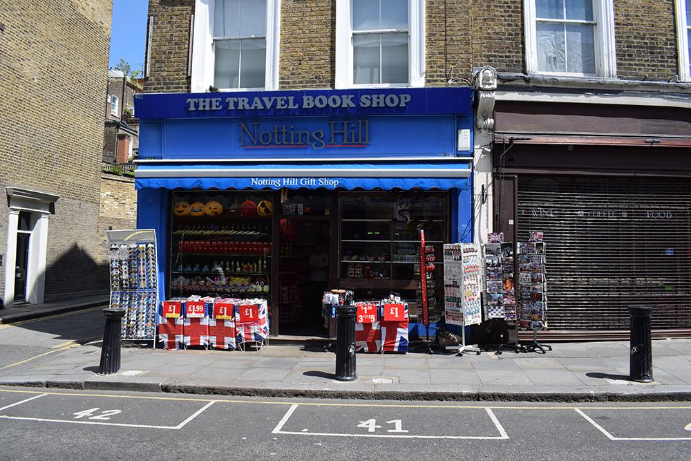 William Thacker'ın kitap dükkanı
