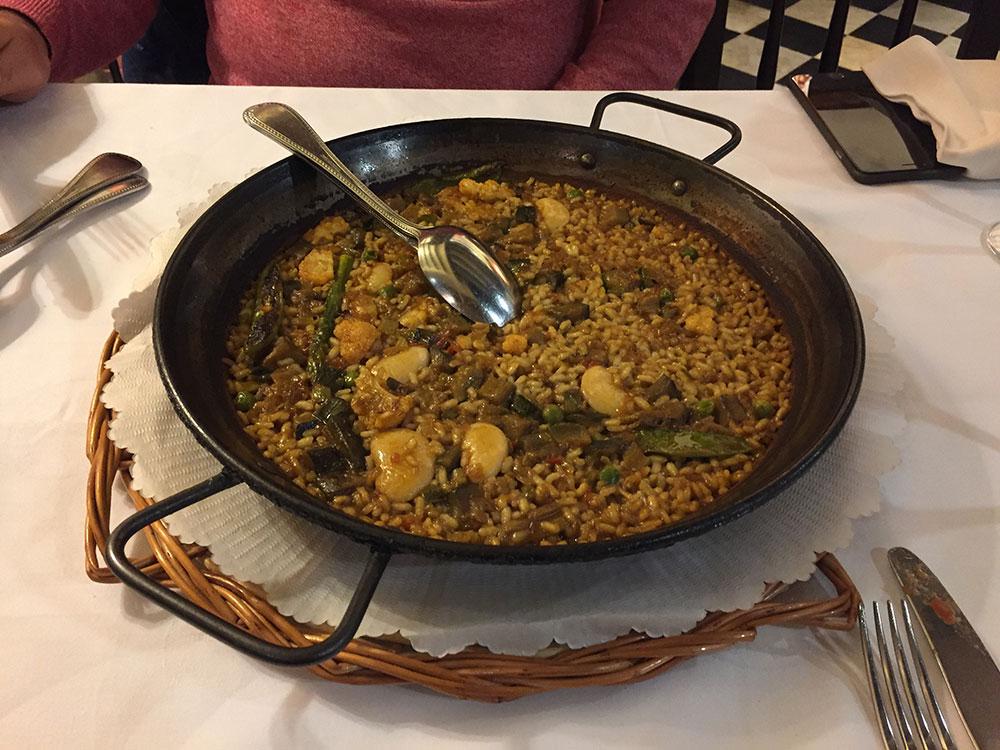 Sebzeli Paella